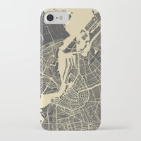 amsterdam iPhone & iPod Cases featuring Amsterdam by Map Map Maps