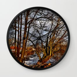 Am Fluss Wall Clock