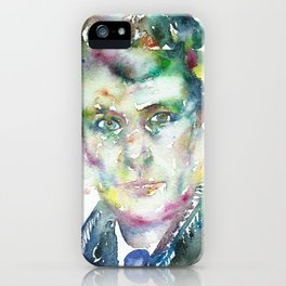 LUCIAN FREUD iPhone Case