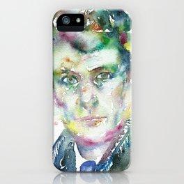 LUCIAN FREUD iPhone Case