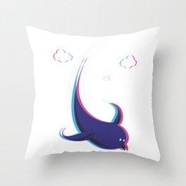 3D FLY Throw Pillow