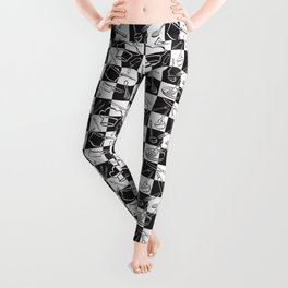 Kitchen Tools Checkerboard Leggings