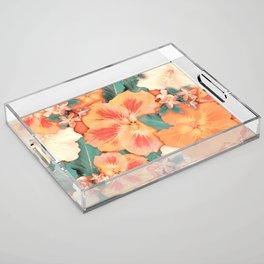 Aloha Orange Sherbet Acrylic Tray