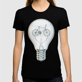 Light Bicycle Bulb T-shirt