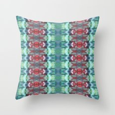 Life Used To Be Aquatic Throw Pillow