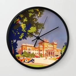 Salsomaggiore Italy 1920s Wall Clock
