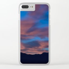 SW Rose Serenity Sunrise Clear iPhone Case