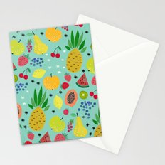 Fruitta Pattern Stationery Cards
