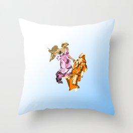 Ecstasy of St. Teresa Throw Pillow