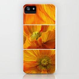 Poppy love iPhone Case