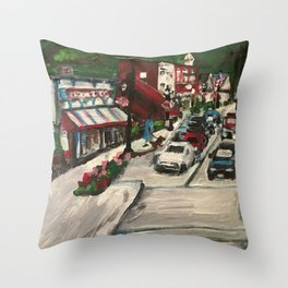 Chagrin Falls, Ohio Throw Pillow