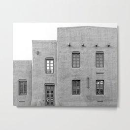 Santa Fe Photo, Adobe Architecture Metal Print