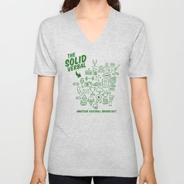 The Solid Verbal Unisex V-Neck