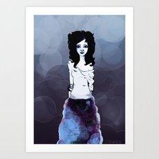 Bluish Art Print