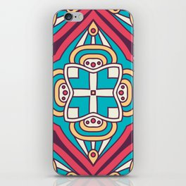 Mosaic Boho Pattern iPhone Skin