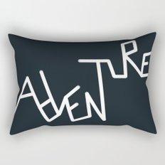 B&W Adventure Rectangular Pillow