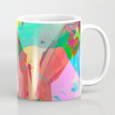 pastel color rings  Mug