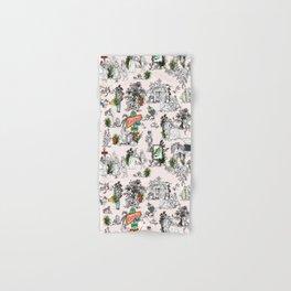 Toile de Jouy Between eras 01 Hand & Bath Towel