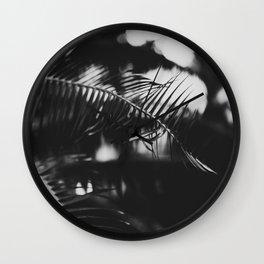 Razor Leaf Wall Clock