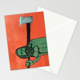 The Lumberjack Stationery Cards