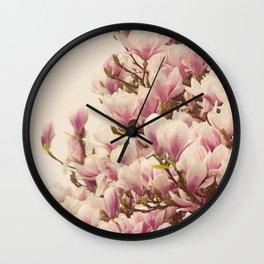 Oh Magnolia Wall Clock