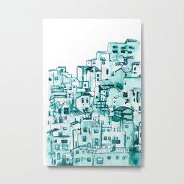 Pueblos blancos Metal Print