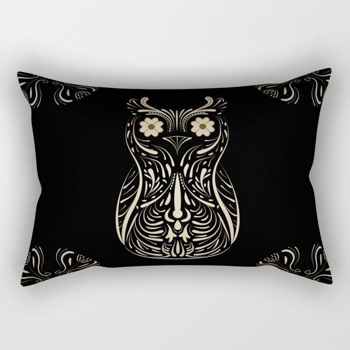 A wise bird the Owl. Rectangular Pillow