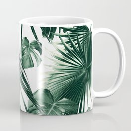 Tropical Jungle Leaves Dream #7 #tropical #decor #art #society6 Coffee Mug