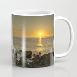 Ilfracombe beach Sunset Coffee Mug