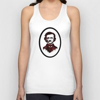 poe Tank Tops featuring Poe by Brit Austin Illustration