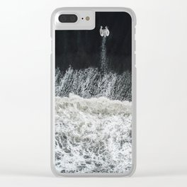 Mother Earth and her Child Clear iPhone Case