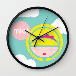 MIA! Wall Clock