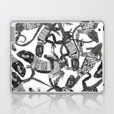 just lizards black white Laptop & iPad Skin