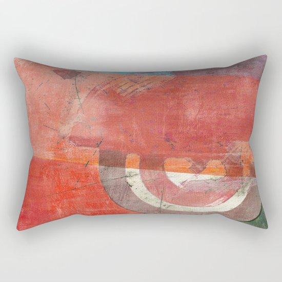 Di Lambretta a Milano (Lambretta in Milan) Rectangular Pillow