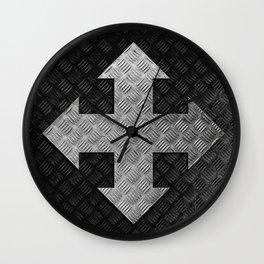 Arrow Cross Wall Clock