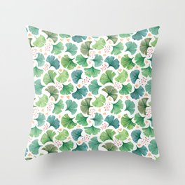Ginkgo Throw Pillow