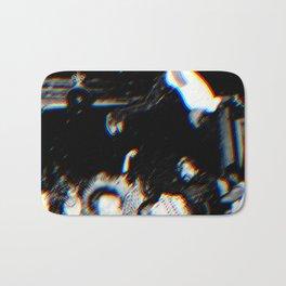 Playboi Carti - Die Lit (Split Color Glitch Effect) Bath Mat