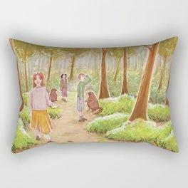 Winter's gone Rectangular Pillow