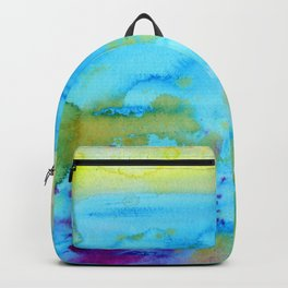 Mermaid Tears Watercolor Fantasy Backpack