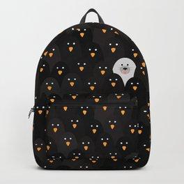 penguin huddle Backpack