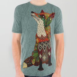 fox love All Over Graphic Tee