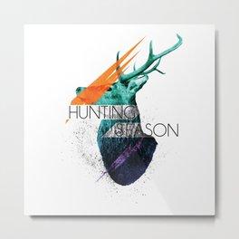 Hunting Season Metal Print