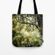 Bokah tree Tote Bag