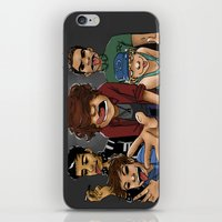 gorillaz iPhone & iPod Skins featuring Gorillaz 1D by cargline