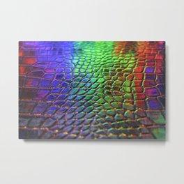Rainbow Scales 3 Metal Print