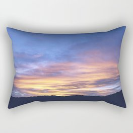 """Sunrise Horizon 2"" by Murray Bolesta Rectangular Pillow"