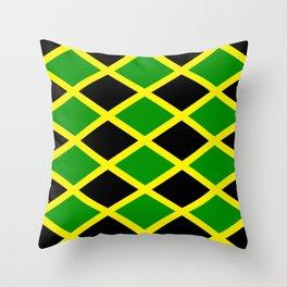 Jamaica Jamaica Jamaica Throw Pillow