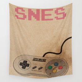 SNES and the control Wall Tapestry