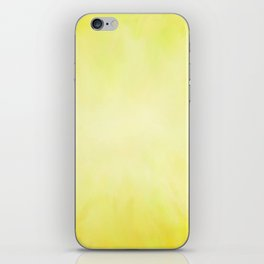 Sunny Yellow Wash of Color iPhone Skin