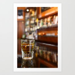 A Shot of Whisky Art Print